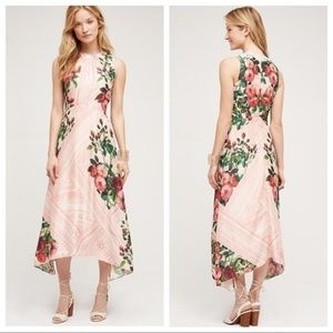 Anthropologie Garden Midi By Pankaj & Nidhi 00P